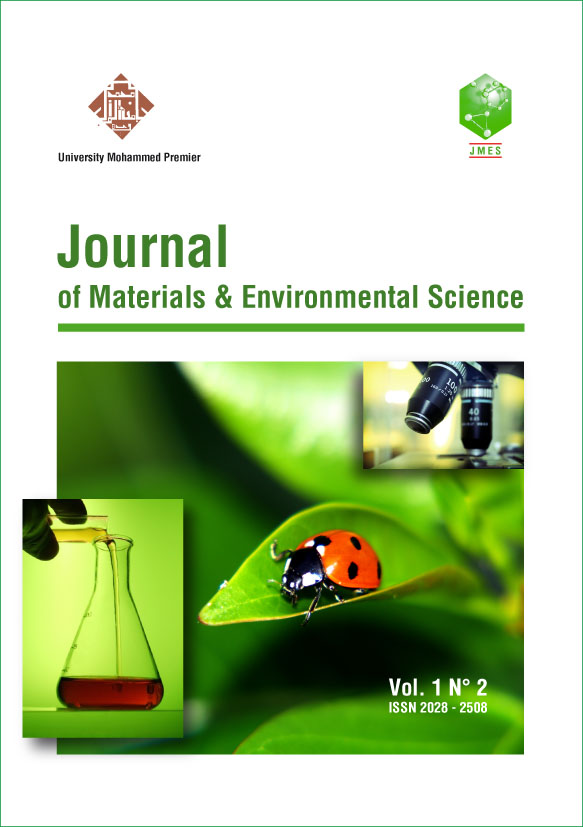 Journal of Materials and Environmental Science 2