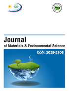 Journal of Materials and Environmental Science 1